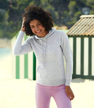Fruit of the Loom Lady-Fit Lightweight Hooded Sweat ΓΥΝΑΙΚΕΙΟ